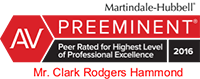 AV Preeminent - Peer Rated for Highest Level of Professional Excellence